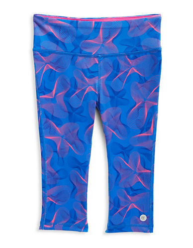 Jill Yoga Printed Yoga Capri Leggings-ASSORTED-3