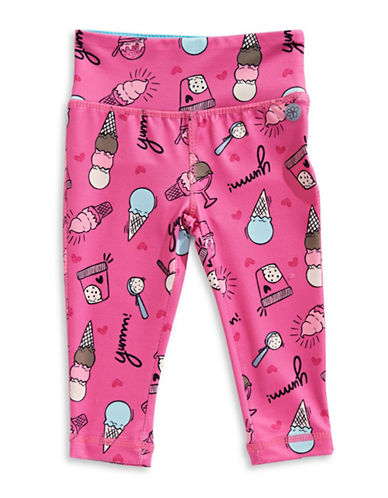 Jill Yoga Printed Novelty Leggings-CANDY PINK-12-18 Months 89804067_CANDY PINK_12-18 Months