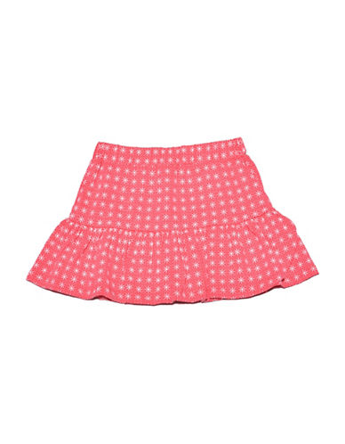 Preview Printed Frill Skort-CORAL-10
