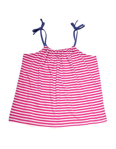 Preview Striped Swing Tank Top-PINK-5