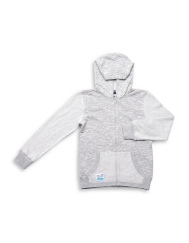 Preview Pouch Pocket Full Zip Hoodie-GREY-X-Large 88912556_GREY_X-Large