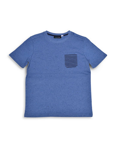Preview Dot Accented Tee-BLUE-X-Large 88912552_BLUE_X-Large