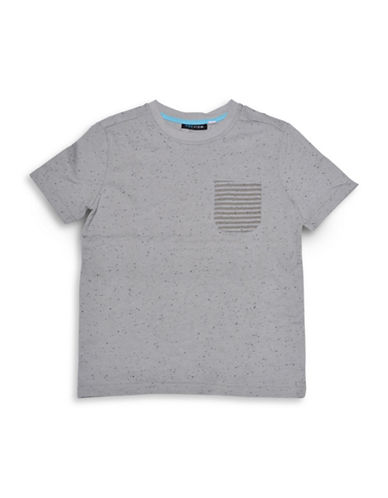 Preview Dot Accented Tee-GREY-Small