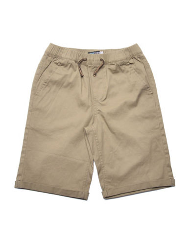 Preview Drawstring Shorts-BEIGE-Medium