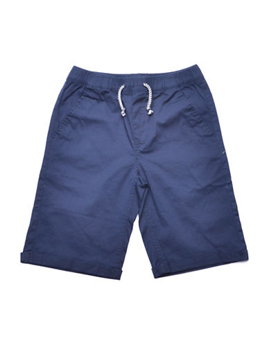 Preview Drawstring Shorts-BLUE-X-Large 88983051_BLUE_X-Large