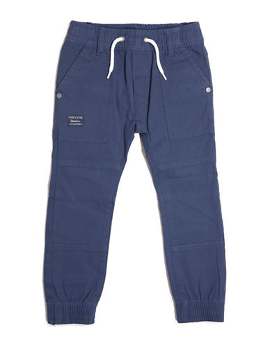 Preview Twill Joggers-BLUE-4