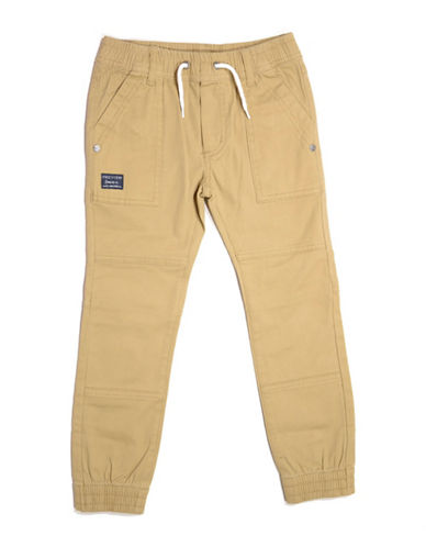 Preview Twill Joggers-BROWN-4