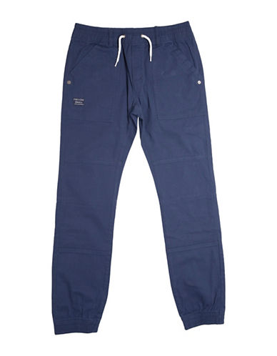 Preview Twill Joggers-BLUE-Large