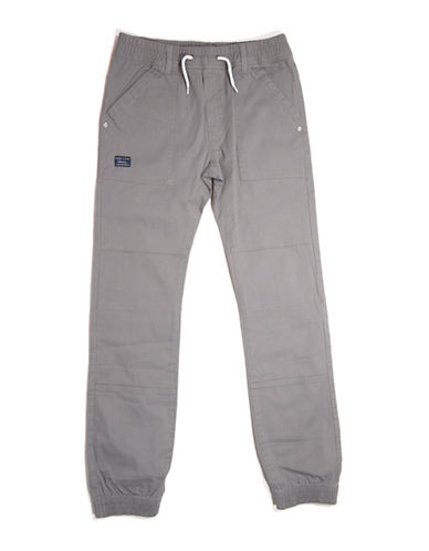 Preview Twill Joggers-GREY-Large