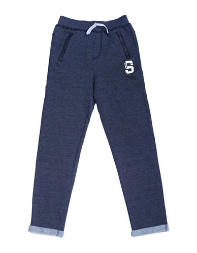 Preview Fleece Pants-BLUE-Small