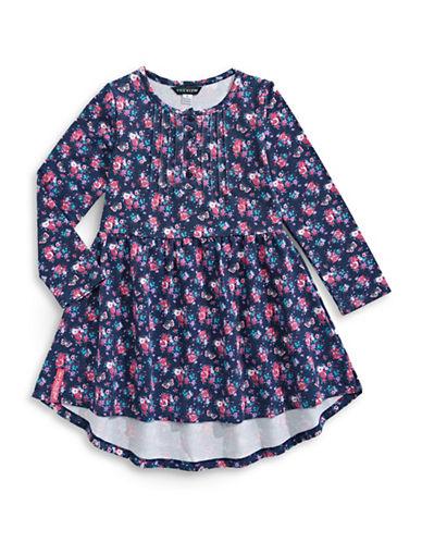 Preview Floral Dress-BLUE-2T