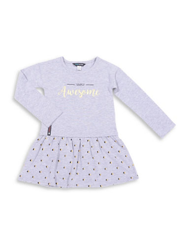 Preview Popover A-Line Dress-GREY-2T