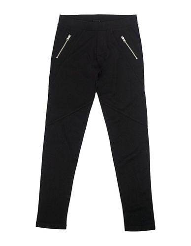 Preview Zip Leggings-BLACK-8