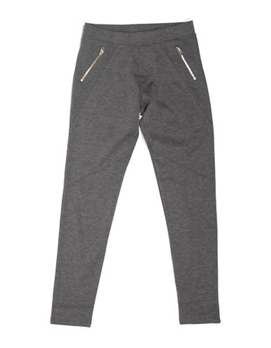 Preview Zip Leggings-GREY-12