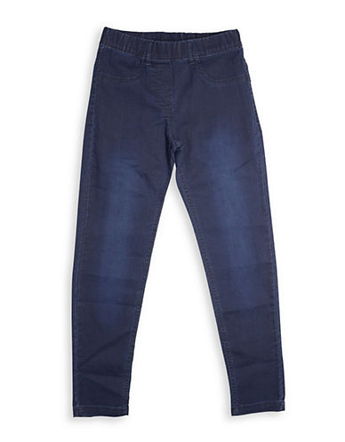 Preview Faded Denim Jeggings-BLUE-7