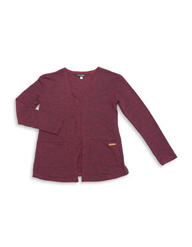 Preview Open Cardigan-RED-10