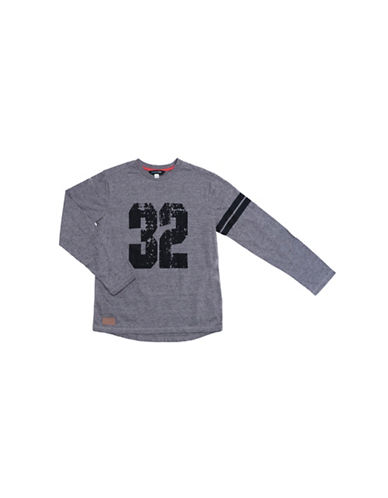Preview 32 Crew Neck Tee-GREY-Medium 89428160_GREY_Medium