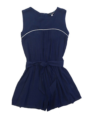Preview Chiffon Pleated Romper 89884979