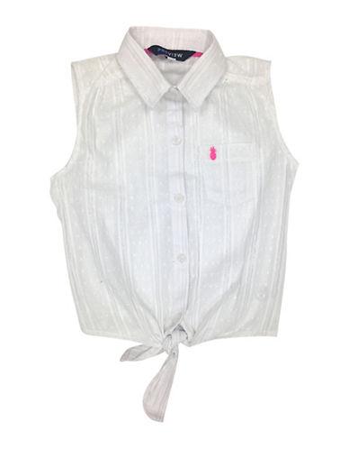 Preview Girl's Sleeveless Collar Top 89917815