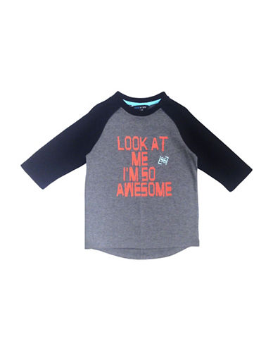 Preview Boys Three-Quarter Raglan Tee-GREEN-3
