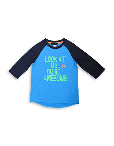 Preview Boys Three-Quarter Raglan Tee-BLUE-7