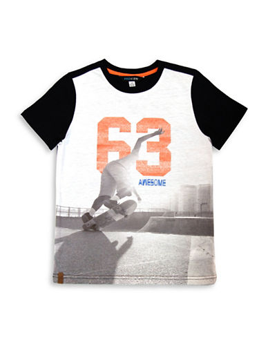 Preview Boys Photo Short-Sleeve Tee-BLACK-X-Large