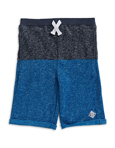 Preview Boys French Terry Bermuda Shorts-BLUE-Large