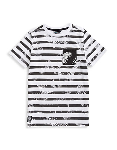 Preview Graphic Stripe Tee-WHITE-Large 89783287_WHITE_Large