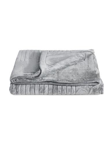 Beautyrest Black Luxury Heated Electric Blanket-GREY-Queen