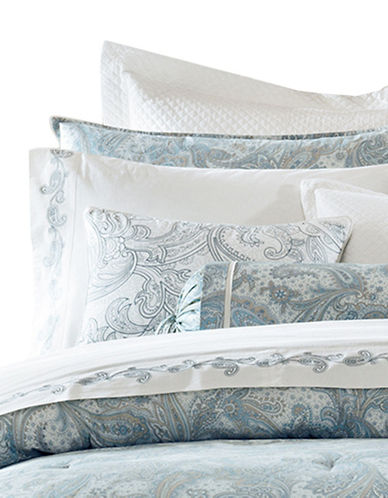 Harbor House Chelsea Three-Piece Paisley Duvet Cover Set-BLUE-Queen