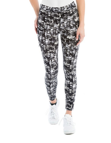 Lole Burst Printed Leggings-BLACK-Large 88118909_BLACK_Large