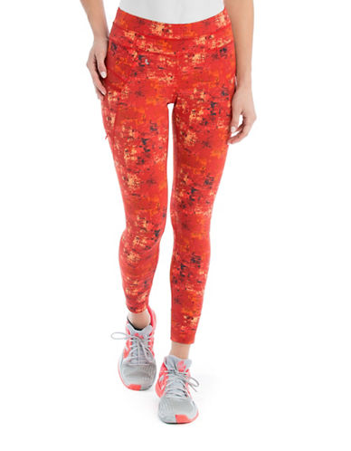 Lole Burst Printed Leggings-RED-X-Large 88118916_RED_X-Large