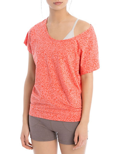 Lole Sheila V-Inset Top-ORANGE-Small 88170104_ORANGE_Small