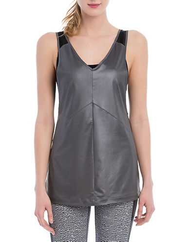 Lole Flared Active Tank Top-DARK GREY-Large 88170111_DARK GREY_Large