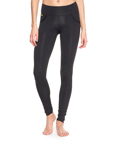 Lole Slim Fit Active Leggings-BLACK-Large
