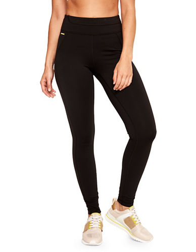 Lole Motion Cropped Leggings-BLACK-X-Small 90013878_BLACK_X-Small