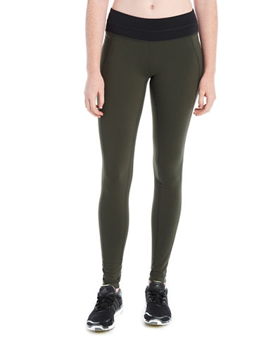 Lole Colourblock Motion Leggings-GREEN-X-Small 88595520_GREEN_X-Small