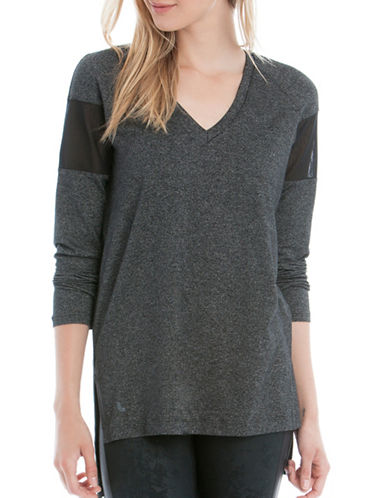 Lole Mason Heathered Tunic-GREY/BLACK-Large 88595513_GREY/BLACK_Large