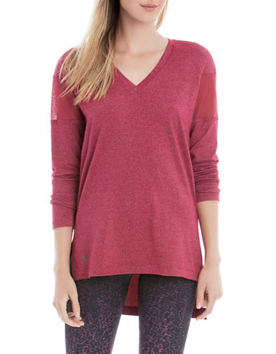 Lole Mason Heathered Tunic-RED-X-Small 88595515_RED_X-Small