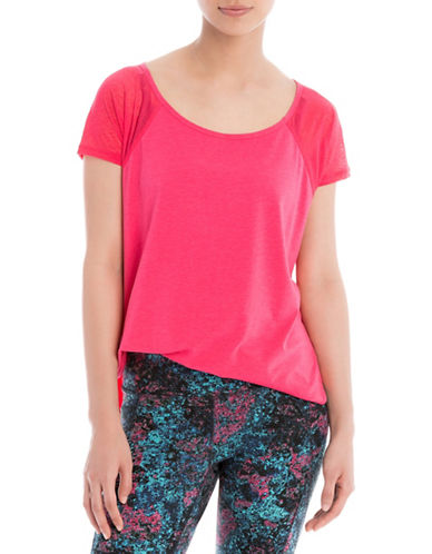 Lole Mukhala Short Sleeve Top-PINK-X-Small 88505400_PINK_X-Small