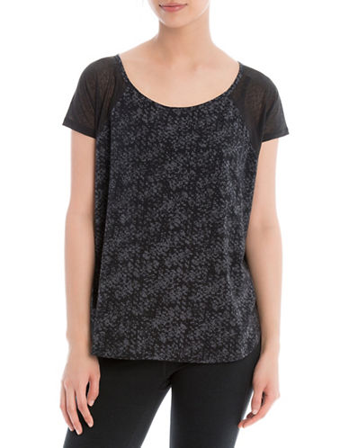Lole Mukhala Short Sleeve Top-BLACK-Medium 88505397_BLACK_Medium