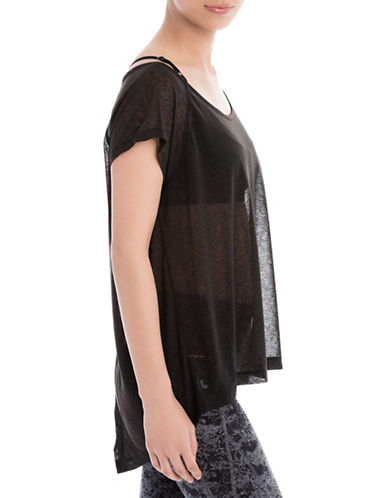 Lole Beth Tee-BLACK-Large