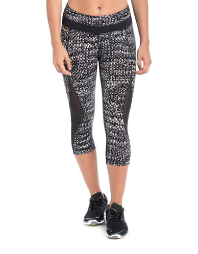 Lole Run Capri Leggings-BLACK/WHITE-Small 88595546_BLACK/WHITE_Small