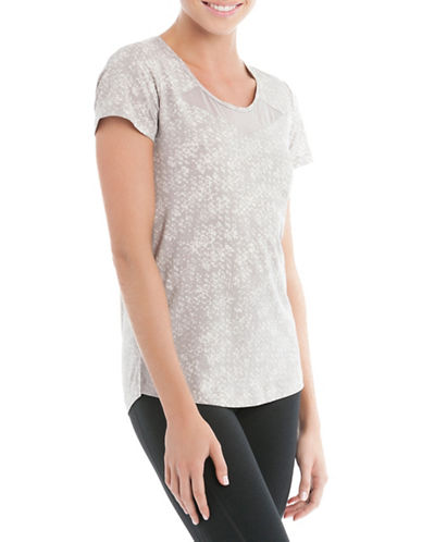 Lole Kesha Printed T-Shirt-GREY-X-Large 88505414_GREY_X-Large