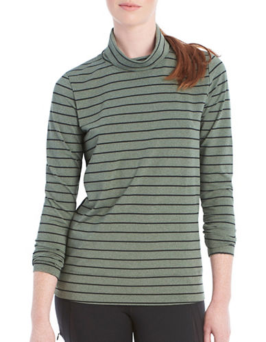 Lole Gloria Striped Top-GREEN-Medium