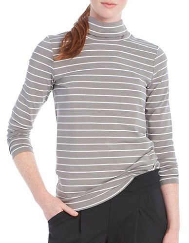 Lole Gloria Striped Top-GREY-Large 88595538_GREY_Large