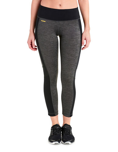 Lole Ericana Skinny Fit Ankle Leggings-BLACK HEATHER-Small