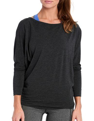 Lole Elisia Dolman Sleeve Top-BLACK HEATHER-X-Small 89182003_BLACK HEATHER_X-Small