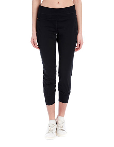 Lole Sojourn Mid Rise Cottony Poly Jogger Pants-BLACK-X-Large 89182051_BLACK_X-Large