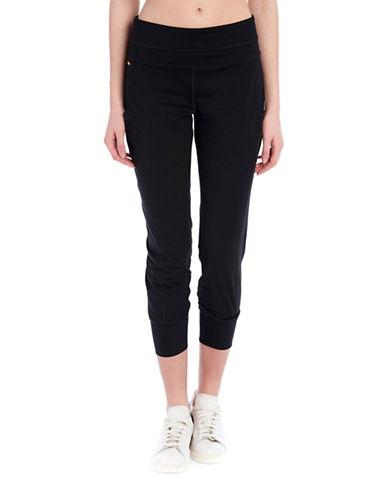 Lole Sojourn Mid Rise Cottony Poly Jogger Pants-BLACK-X-Large 89182051_BLACK_X-Large